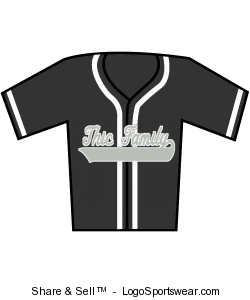 THIC FAMILY BASEBALL JERSEY Design Zoom